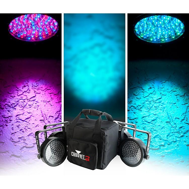CHAUVET DJSlimPACK 56 LT - 4 SlimPAR 56 Wash Lights and 3 DMX Cables with CHS-SP4 VIP Gear Bag
