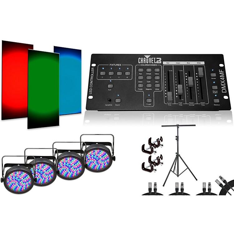 CHAUVET DJSlimPAR 56 DMX4MF 4 Light System