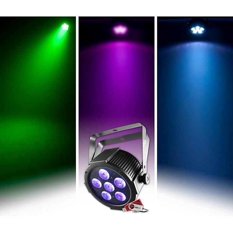 CHAUVET DJSlimPAR H6 USB Par-Style LED Wash/Black Light