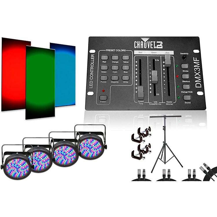 CHAUVET DJSlimPar 56 DMX3MF 4 Light System