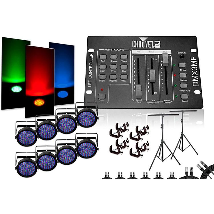 Chauvet DJSlimPar 64 DMX3MF 8 Light System