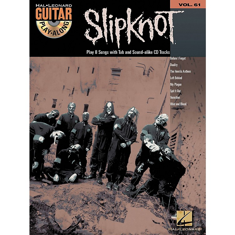 Hal Leonard Slipknot Guitar Play-Along Series Book with CD