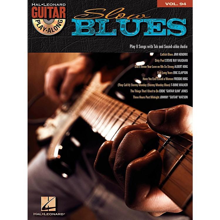 Hal LeonardSlow Blues - Guitar Play-Along Volume 94 (Book/Online Audio)