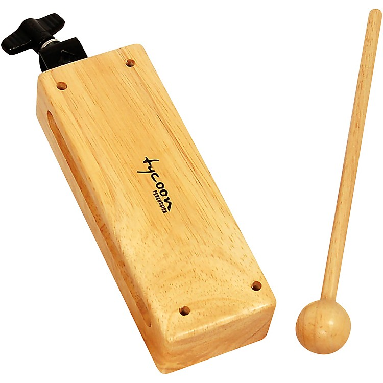 Tycoon PercussionSmall Mountable Wood Block