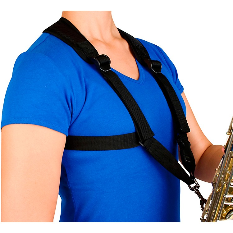 Protec Smaller Padded Harness For Alto / Tenor / Baritone Saxophone With Metal Snap