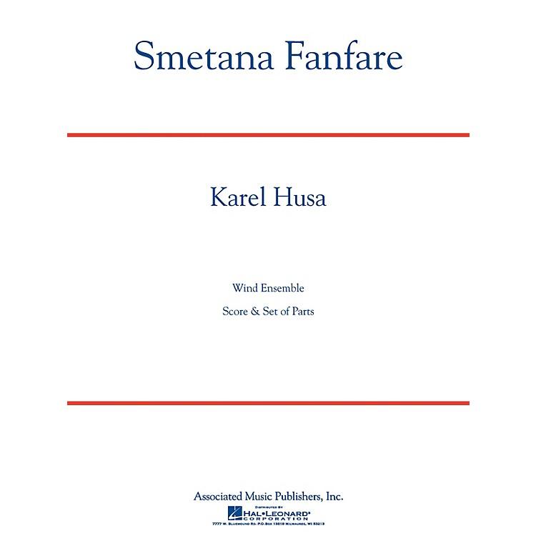 AssociatedSmetana Fanfare (Score and Parts) Concert Band Level 4-5 Composed by Karel Husa