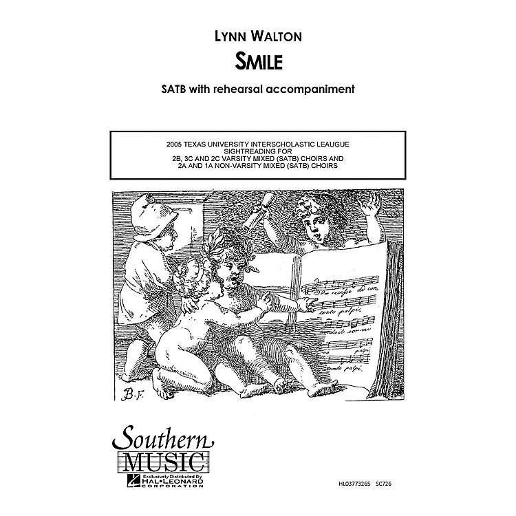 Hal LeonardSmile (Choral Music/Octavo Secular Satb) SATB Composed by Walton, Lynn