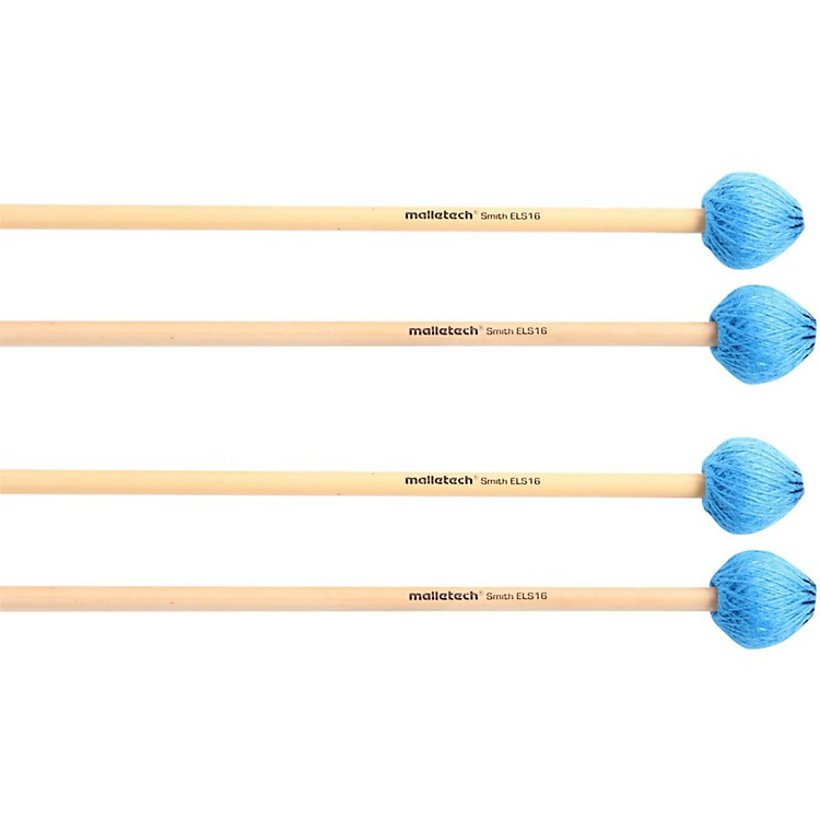 Malletech Smith Vibraphone Mallets Set of 4 (2 Matched Pairs)