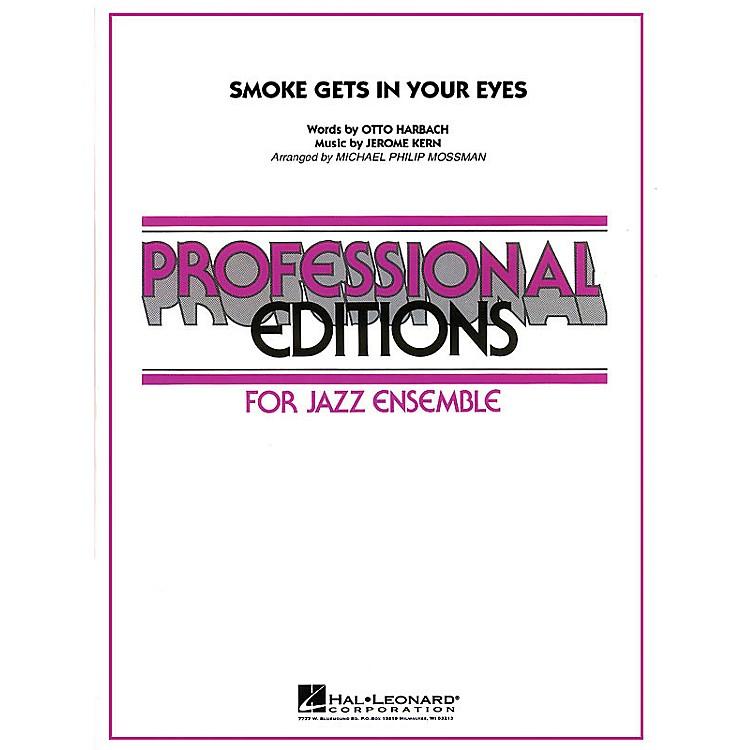 Hal LeonardSmoke Gets in Your Eyes Jazz Band Level 5 Arranged by Michael Philip Mossman