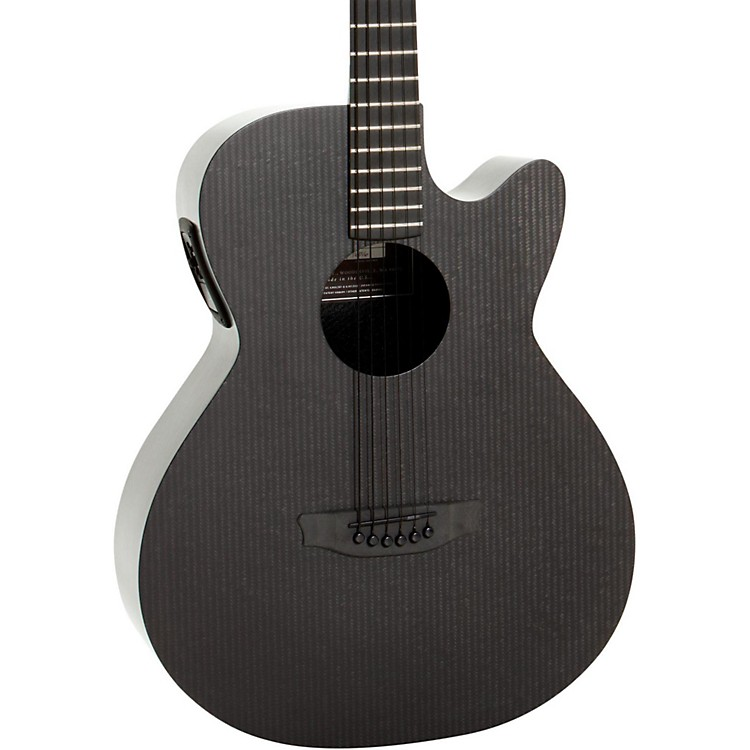 RainSong Smokey Hybrid Stagepro Element Acoustic Electric Guitar Dark Satin