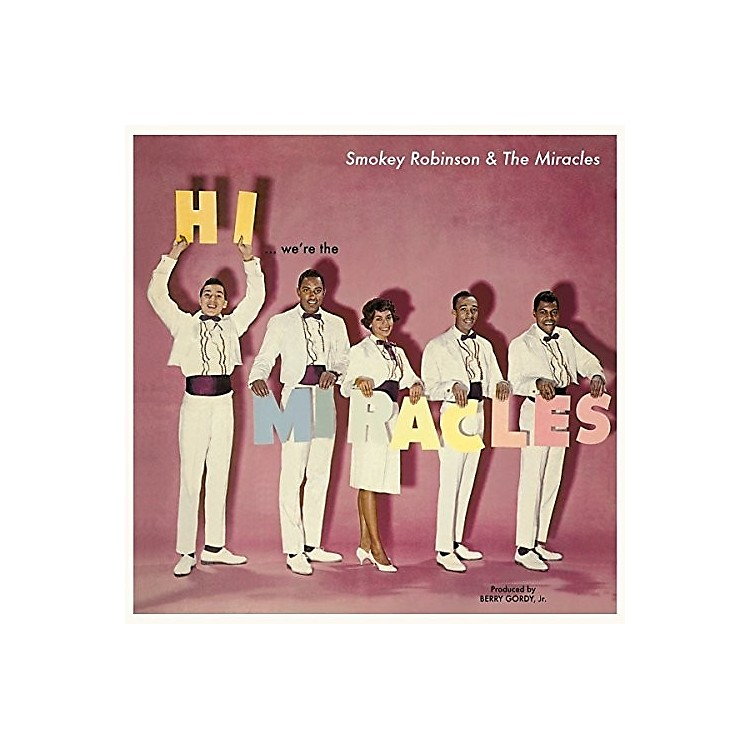 Alliance Smokey Robinson - Hi We'Re The Miracles + 5 Bonus Tracks
