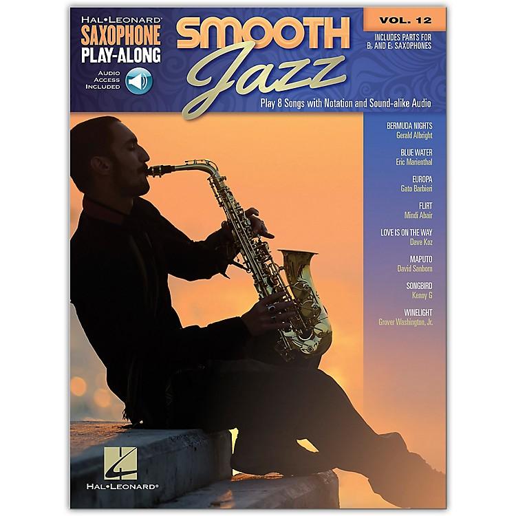 Hal LeonardSmooth Jazz Saxophone Play-Along Volume 12 Book/Audio Online