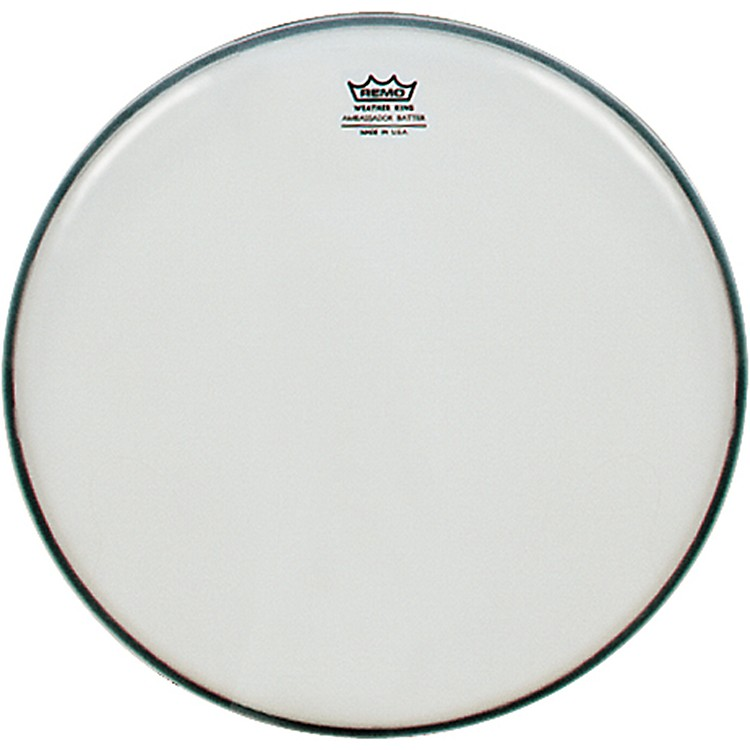 Remo Smooth White Ambassador Batter Drumhead  15 in.