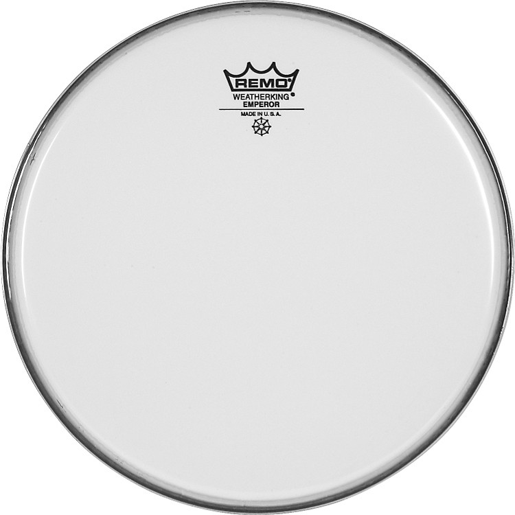 Remo Smooth White Emperor Batter Head  10 in.