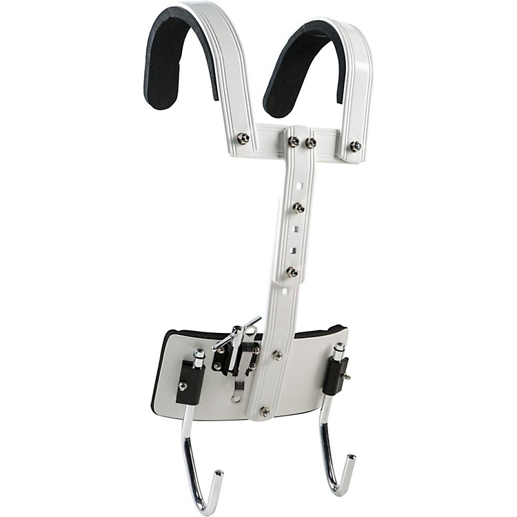 sound percussion labs snare drum carrier white music123. Black Bedroom Furniture Sets. Home Design Ideas