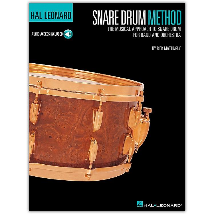 Hal LeonardSnare Drum Method Book/Online Audio