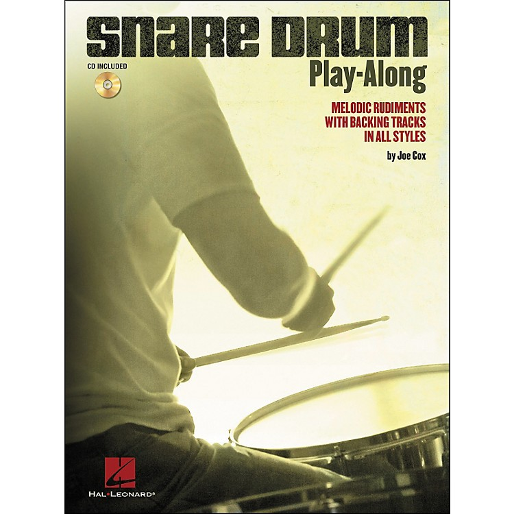 Hal LeonardSnare Drum Play-Along - Melodic Rudiments with Backing Tracks In All Styles (Book/CD)