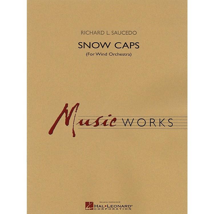 Hal LeonardSnow Caps Concert Band Level 5 Composed by Richard L. Saucedo