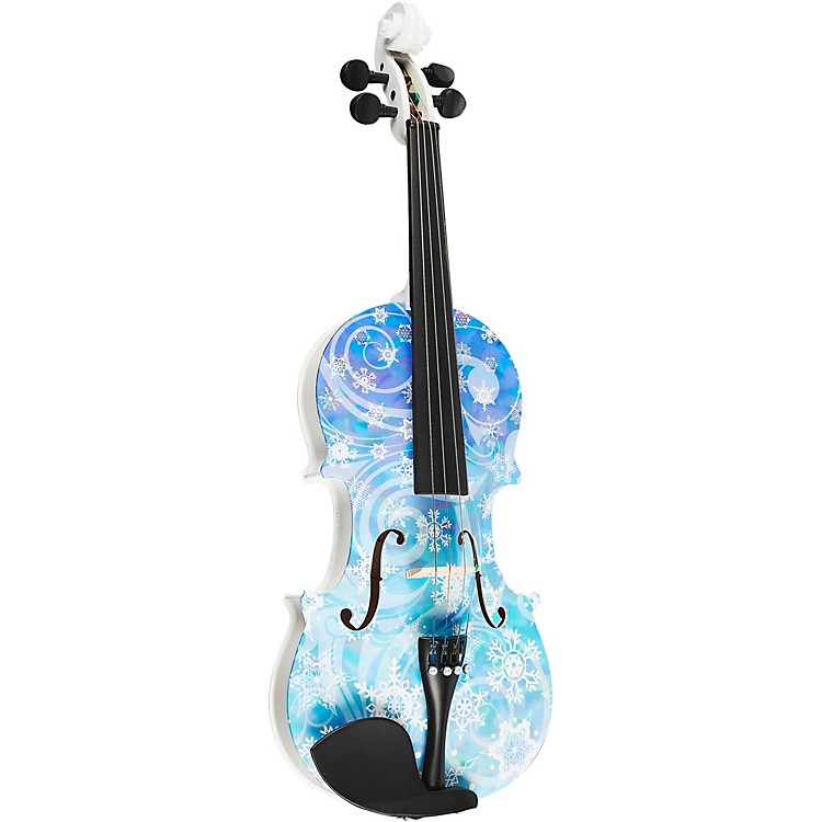 Rozanna's Violins Snowflake Series Violin Outfit 4/4 Size 888365579108