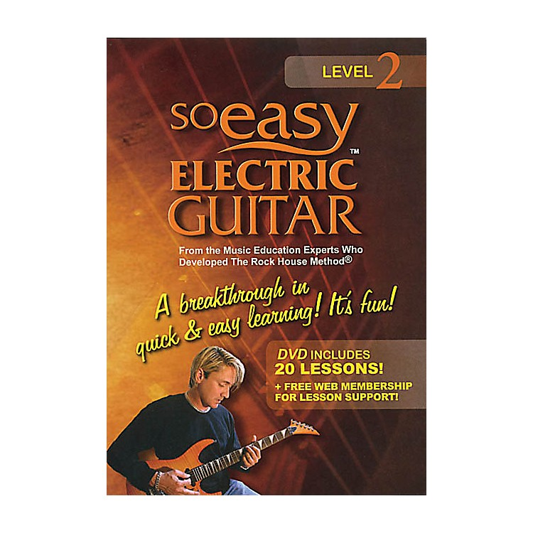 Rock HouseSo Easy Electric Guitar - Level 2 Rock House Series DVD Written by John McCarthy