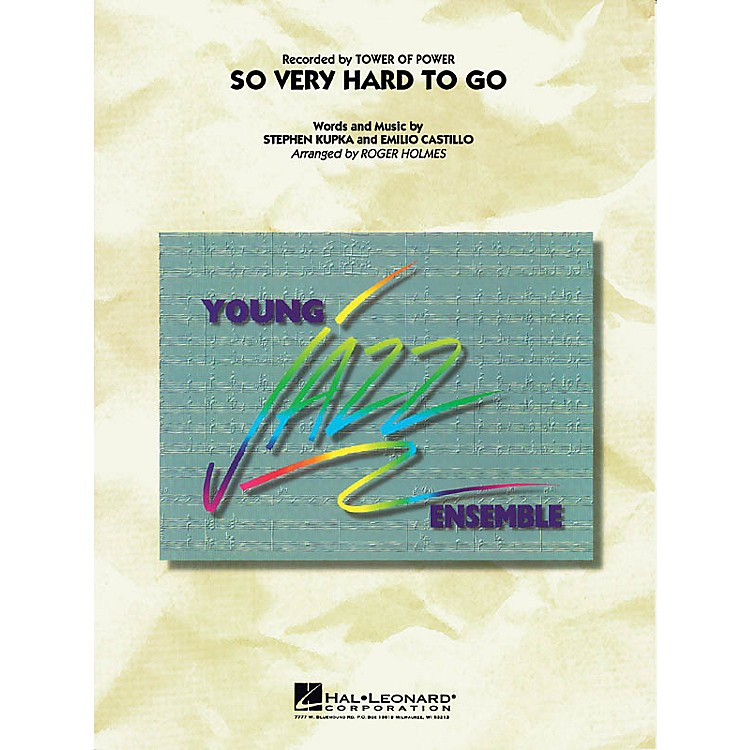 Cherry LaneSo Very Hard to Go Jazz Band Level 3 Arranged by Roger Holmes