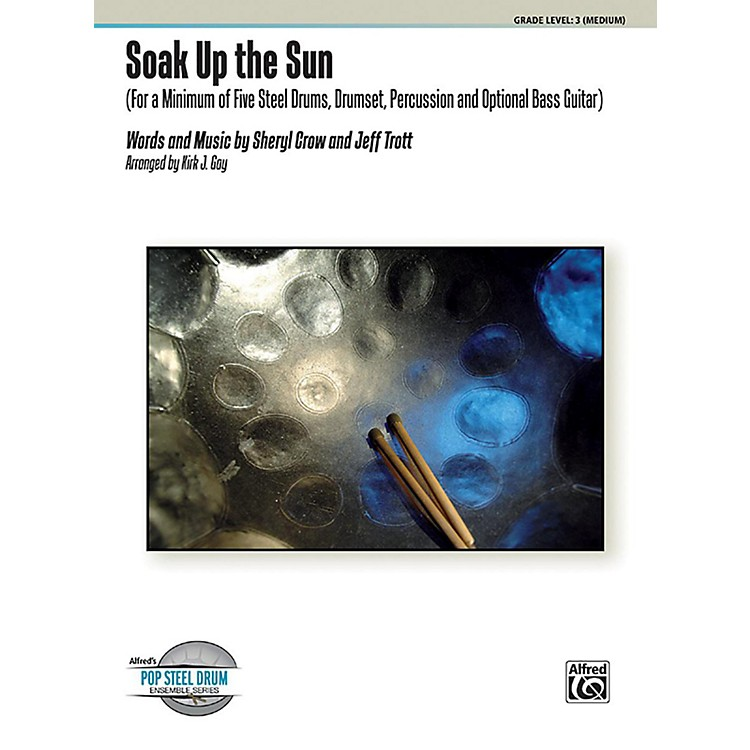 Alfred Soak Up the Sun Steel Drum Ensemble Score & Parts