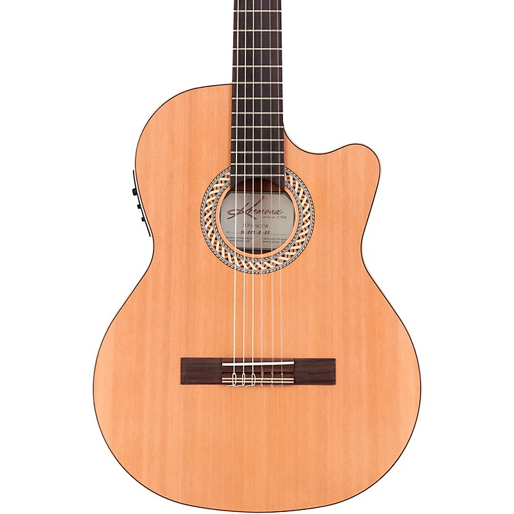 Kremona Sofia S63CW Classical Acoustic-Electric Guitar Natural 190839056429