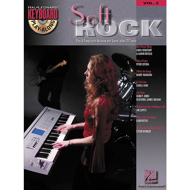 Hal Leonard Soft Rock: Keyboard Play-Along Series, Volume 2 (Book/CD)