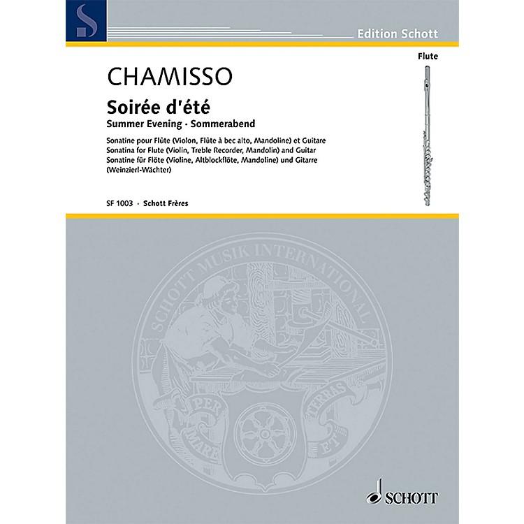 SchottSoirée d'été (Summer Evening) Schott Composed by Olivier Mayran de Chamisso Edited by Elisabeth Weinzierl