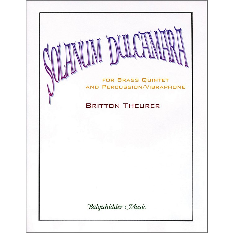 Carl FischerSolanum Dulcamara Book