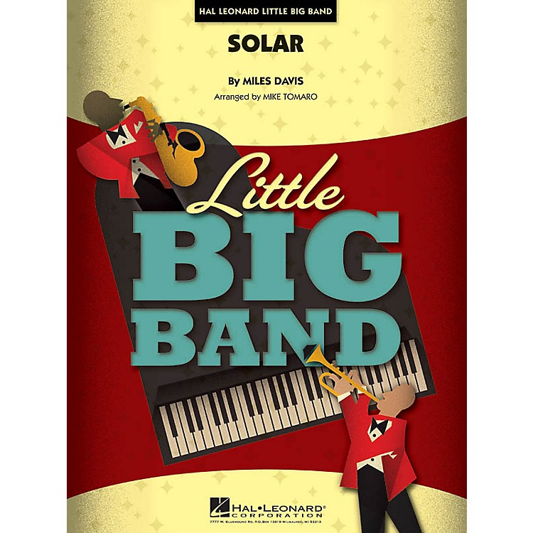 Hal Leonard Solar Jazz Band Level 4 Arranged by Mike Tomaro