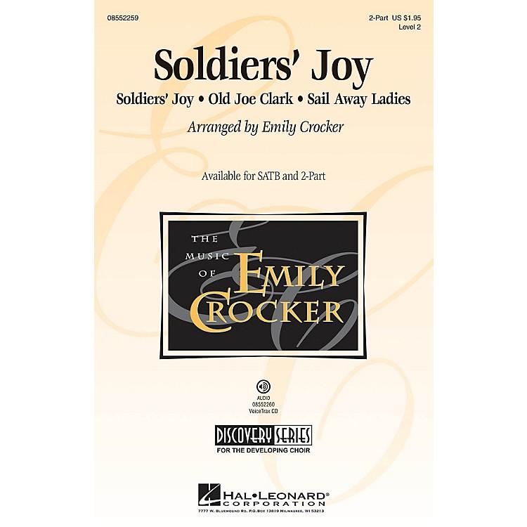 Hal LeonardSoldiers' Joy (Discovery Level 2) VoiceTrax CD Arranged by Emily Crocker