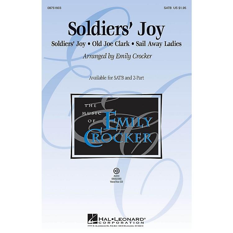 Hal LeonardSoldiers' Joy SATB arranged by Emily Crocker