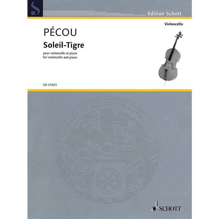 SchottSoleil-Tigre (Cello and Piano) String Series Softcover