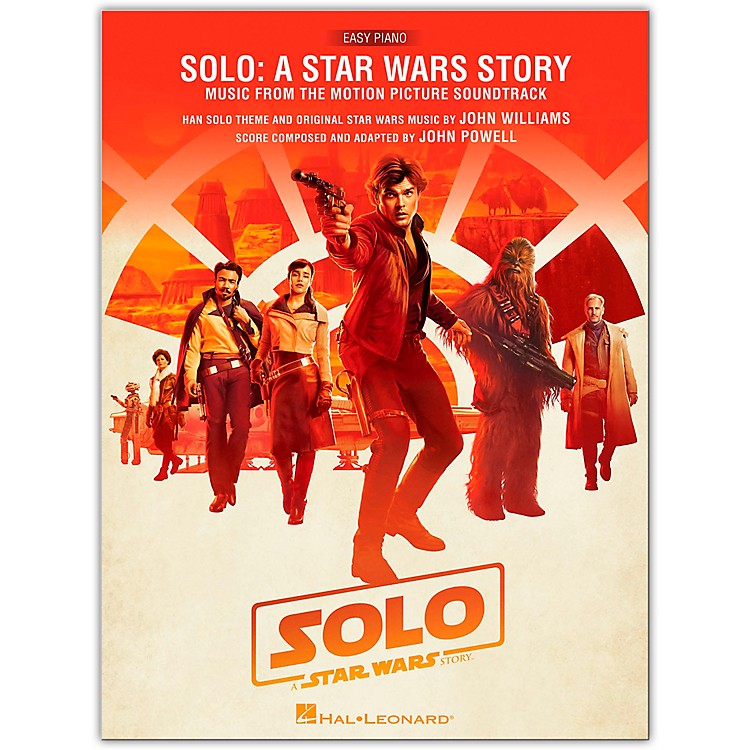 Hal LeonardSolo: A Star Wars Story (Music from the Motion Picture Soundtrack) Easy Piano Songbook