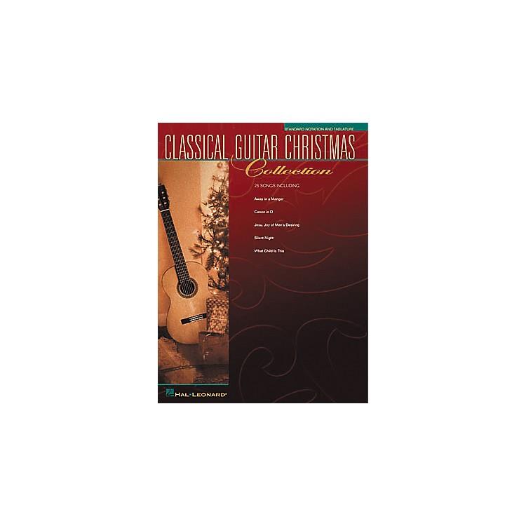 Hal LeonardSolo Classical Guitar Christmas Collection Book