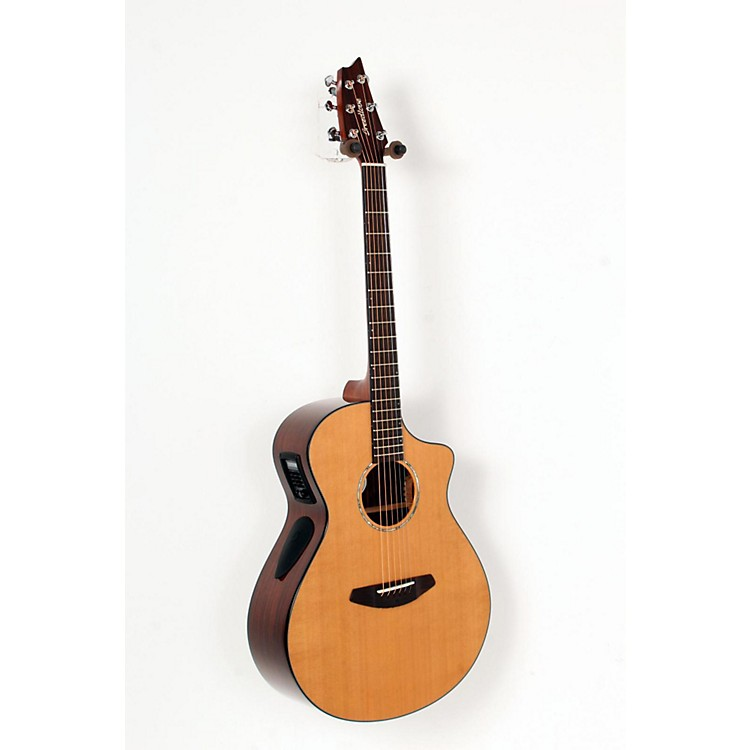 Breedlove Solo Concert Acoustic-Electric Guitar Natural 888365695006