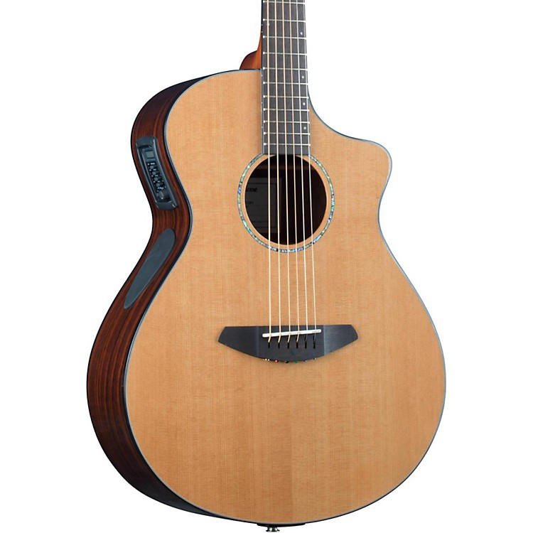 Breedlove Solo Concert Acoustic-Electric Guitar Natural