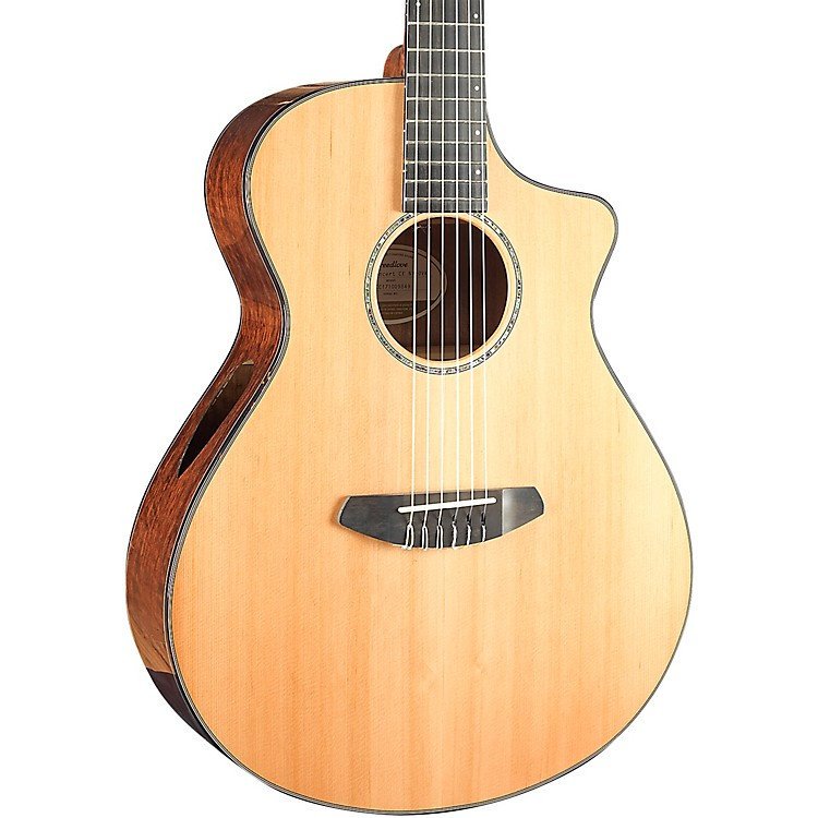 BreedloveSolo Concert Nylon String Acoustic-Electric GuitarGloss Natural