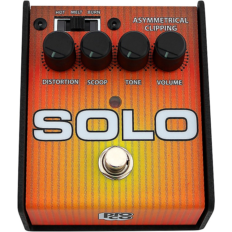 Pro Co Solo Distortion Guitar Effects Pedal