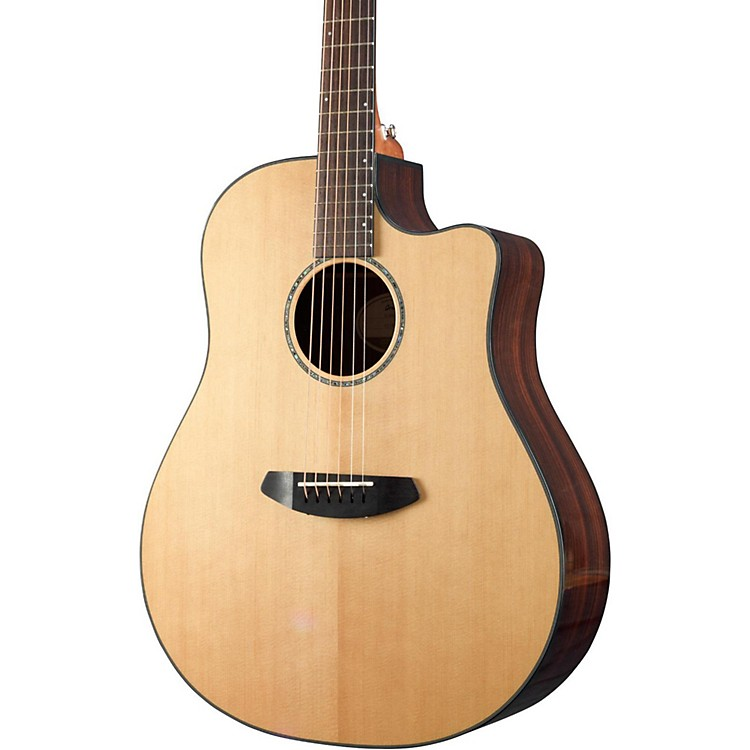 Breedlove Solo Dreadnought CE Acoustic-Electric Guitar Gloss Natural