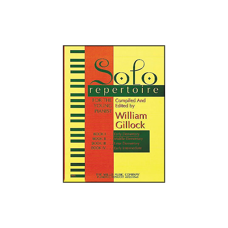 Willis Music Solo Repertoire Book 1 Early Elementary Piano