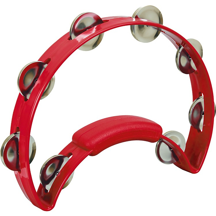 RhythmTech Solo Tambourine White
