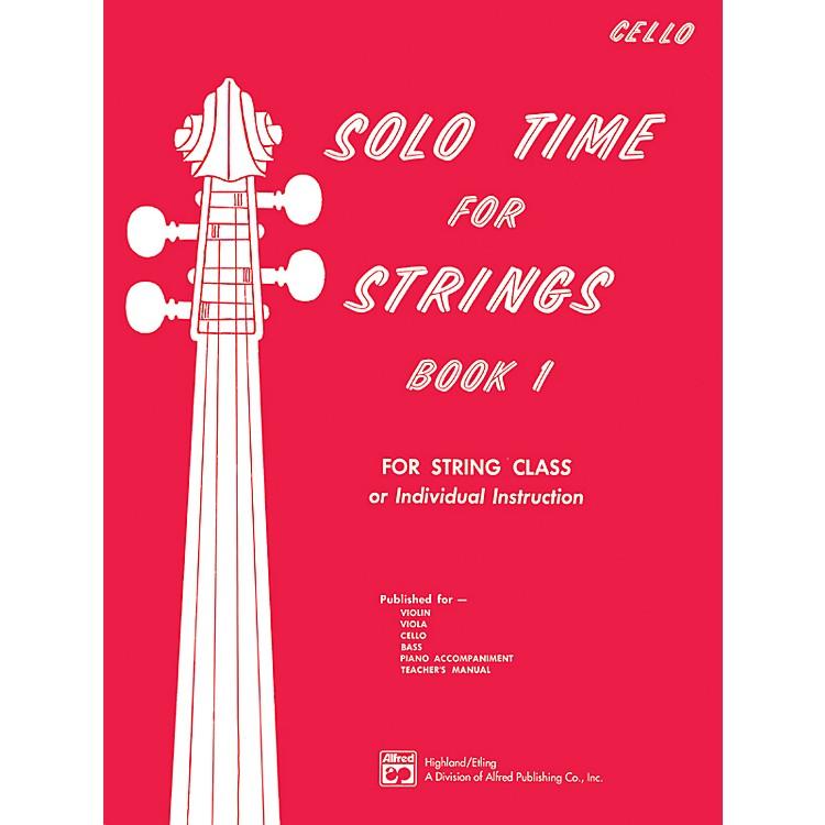 AlfredSolo Time for Strings Book 1 Cello