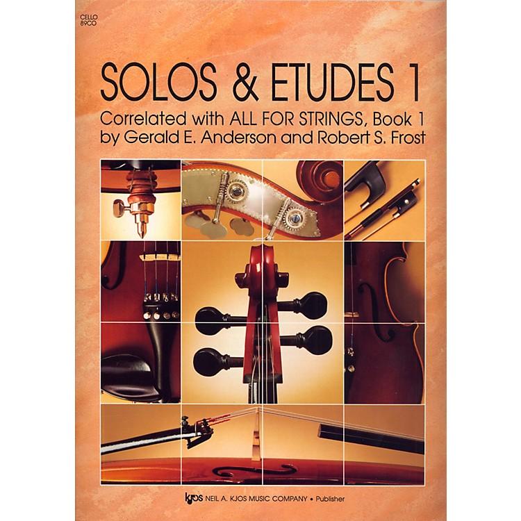 KJOSSolos And Etudes, BK1/CELLO