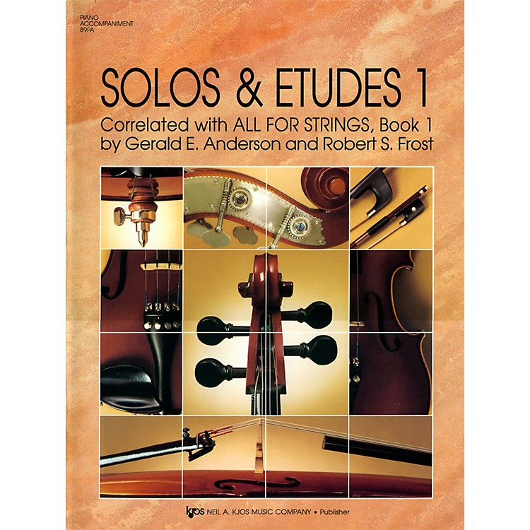 KJOSSolos And Etudes, BK1/PA ACC