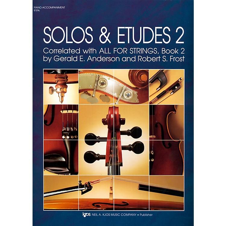 KJOSSolos And Etudes-BOOK 2/PIANO ACCOMP