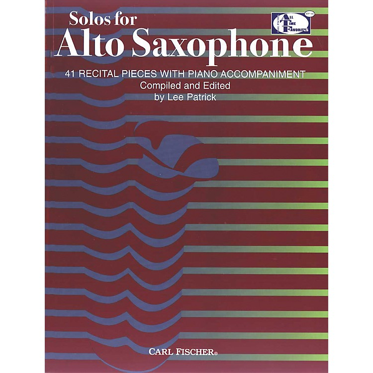 Carl FischerSolos For Alto Saxophone Book