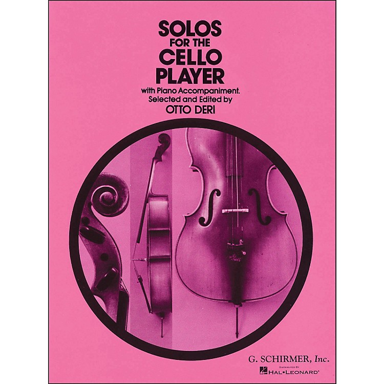 G. SchirmerSolos for The Cello Player with Piano Accompaniment