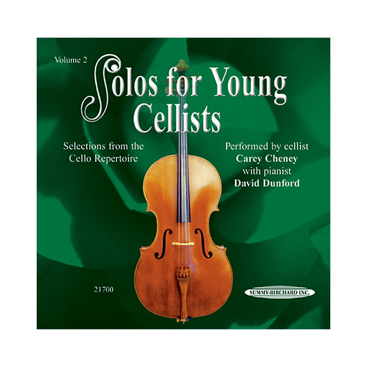 Alfred Solos for Young Cellists CD, Volume 2 CD